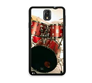 Shawnex Drun Kit Drum Set Drummer Samsung Galaxy Note 3 Case - Fits Samsung Galaxy Note 3 Note III