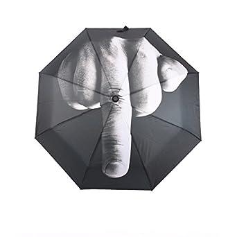 Parapluie avec doigts, doigt dhonneur, centrale middlef Ingersoll parapluie cadeau, main