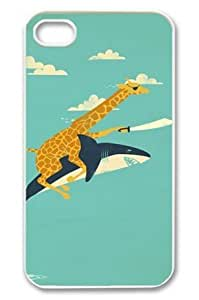 U-KISS Giraffe Design Slim and Stylish Protective Hard Back Plastic Case Cover for iPhone 6 (4.7 inch)