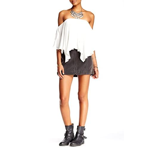 Discount Free People Womens Get Into The Groove Skirt for cheap