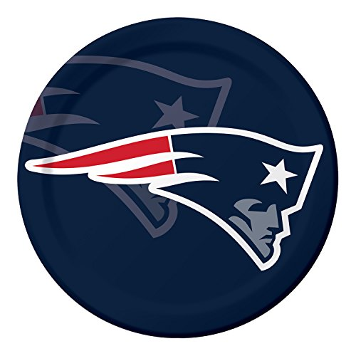 New England Patriots Paper Plates, 24 ct -
