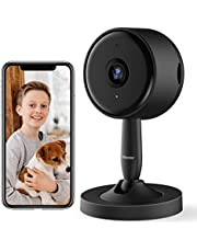 Security Indoor Camera, Rbcior 1080P Home WiFi Camera with Motion Detection and 2-Way Audio, HD Night Vision Baby Monitor Pet Camera for Baby/Elder/Pet/Dog Monitor