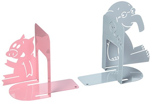 Fun Bookends (Yottoy Elephant & Piggie Bookends)