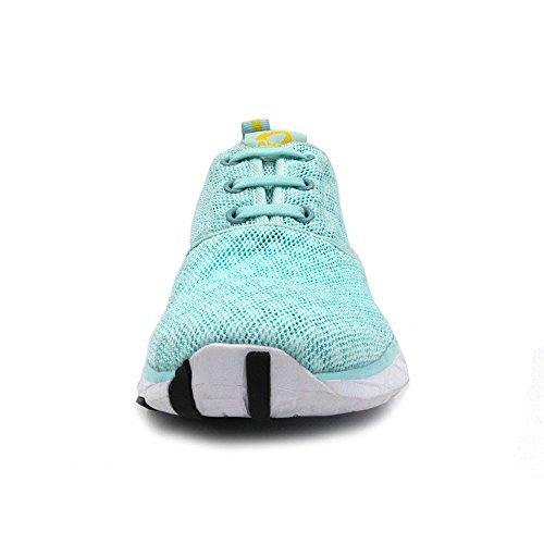 Aqua Shoes Athletic Sneakers Water Amoji Green Unisex 4qtwnR7IEx