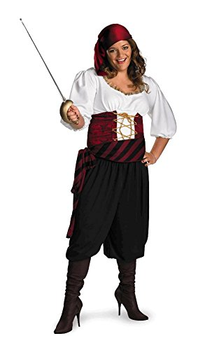 First Mate Pirate Womens Plus Size Costume (First Mate Womens Pirate Costume)