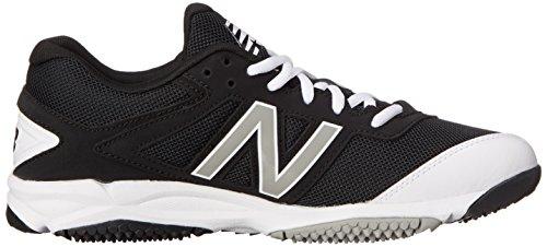 Nuovo Equilibrio Mens T4040v3 Tappeto Erboso Di Scarpe Da Baseball Nero / Bianco