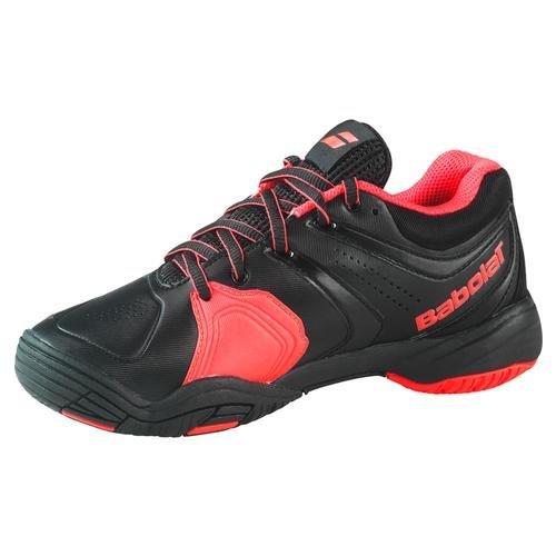BABOLAT V-Pro 2 All Court Zapatilla de Tenis Junior Negro/Rojo
