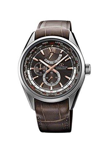 [オリエント]ORIENT 腕時計 ORIENTSTAR オリエントスター ワールドタイム 機械式 自動巻(手巻付) WZ0091JC メンズ B01MYA8GKQ