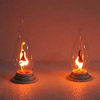 Silicone Dipped Country Flicker Electric Light Candelabra