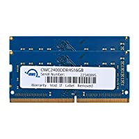 OWC 32GB (2 x 16GB) 2400MHZ DDR4 SO-DIMM PC4-19200 Memory Upgrade for 2017 iMac 27 inch with Retina 5K Display, (OWC2400DDR4S32P)