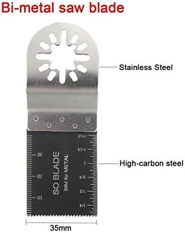 Gulakey 多機能ソーブレードクリニーク振動マルチツールソーブレード35ミリメートルバイメタルブレードをスイング