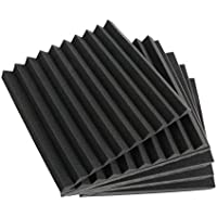 SODIAL 6 Pack Acoustic Panels Studio Foam Wedges 30x30x2.5cm