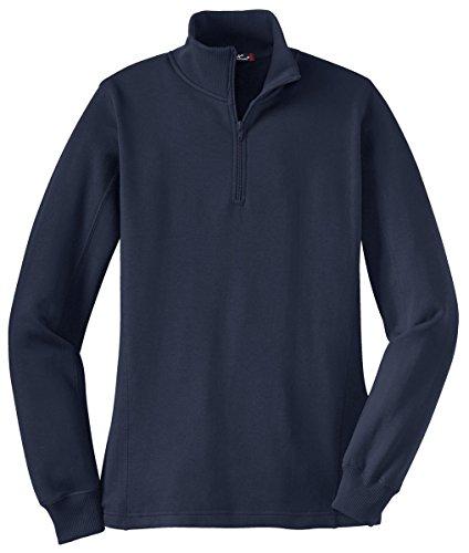 Sport-Tek Women's 1/4 Zip Sweatshirt XXL True - Tek Fleece Gear
