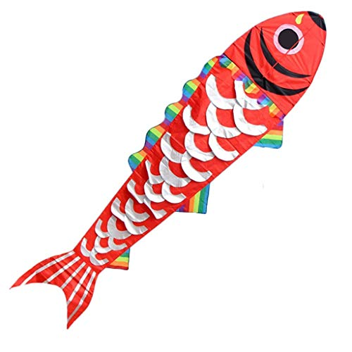 Squid-Shaped Kites, Outdoor Creative Light Breeze Easy to Fly Beginner Kite Travel Portable Beach Kite, 150 600CM,A