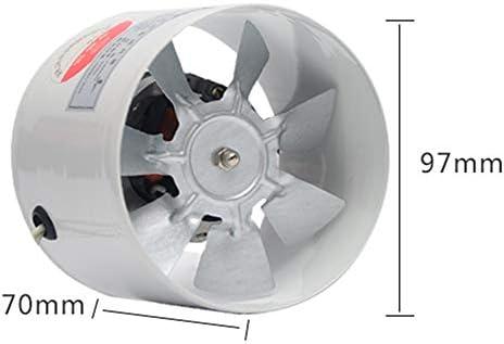 Ventilador de escape 97 mm Tubo Redondo Ventilador de Humo de Cocina Potente baño Silencio Bajo Consumo de energía Fuerte ventilación: Amazon.es: Hogar