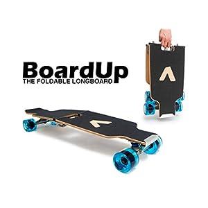 Folding Longboard Skateboard