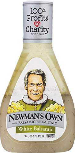 Newman's Own White Balsamic Vinaigrette, 16-oz. (Pack of 6)