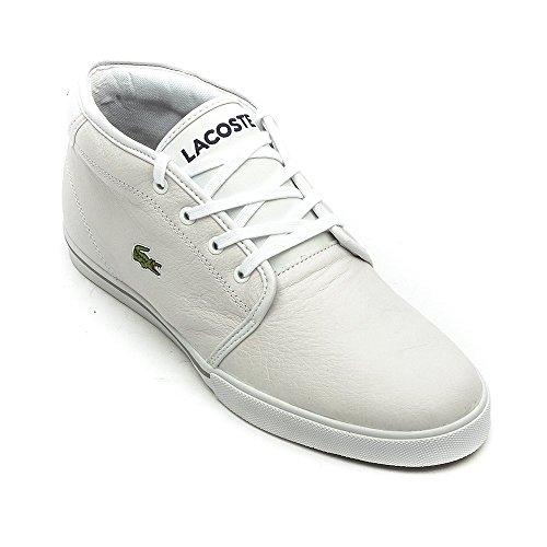 Uomo Lacoste Ampthill Collo Alto a SPM Lcr3 Sneaker Bianco white 07q0w