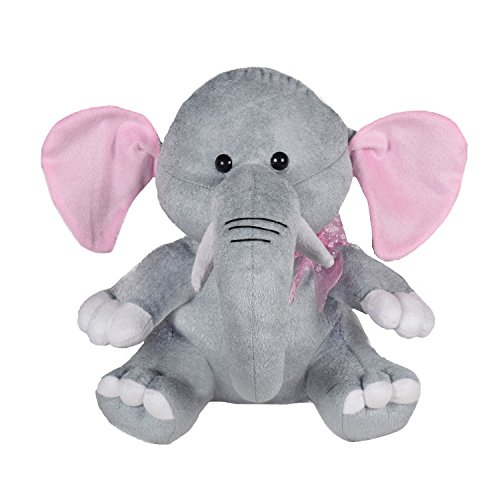 Ultra Baby Cute Elephant Plush Soft Toy for Kids, Gray  11 inch