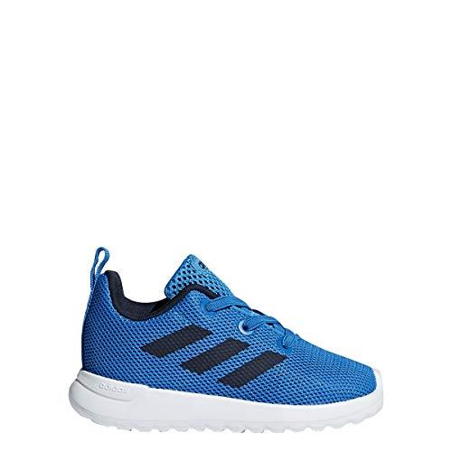adidas Unisex-Kids Lite Racer Running Shoe (10 K US Toddler, Brilliant Blue/Black/White)