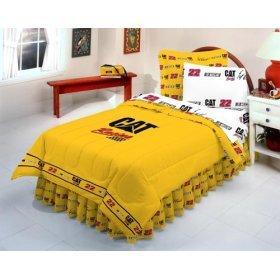 Nascar CAT #22 Scott Wimmer Queen Bed in - Nascar Comforter Shopping Results