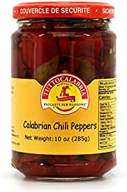 Whole Calabrian Chili Peppers 10 OZ (290 g) by TuttoCalabria