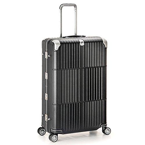 スーツケース | A.L.I (アジアラゲージ) departure (ディパーチャー) HD-509-30.5 フレーム B072HDDQR4レザーマットブラック