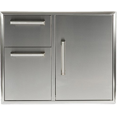 - Coyote 31-inch Access Door & Double Drawer Combo - Ccd-2dc31