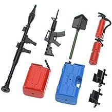Hobbymarking 7Pcs RC 1/10 Decoration Tools Car Parts DIY Kit for RC Rock Crawler Truck Traxxas Axial Yeti SCX10 RC4WD D90 D110