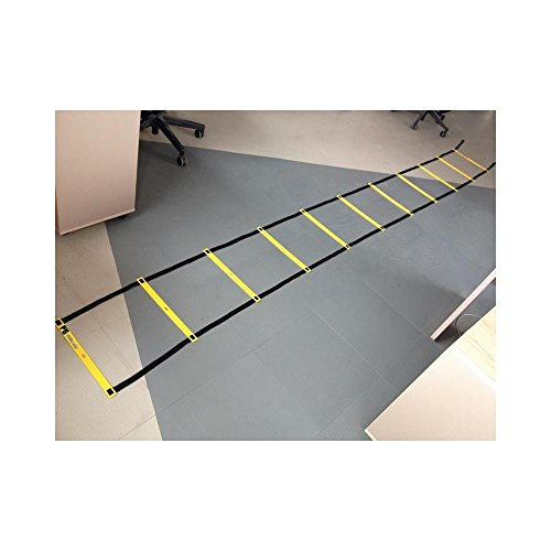 Perfect Soccer Skills Premium Soccer Training Agility Ladder + Free Carrying Bag
