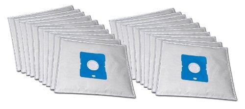 20 sacs d'aspirateur de qualité supérieure adaptés à l'aspirateur Triomph CH 985