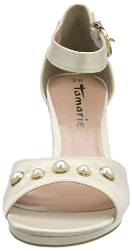 champagne 28046 Tamaris Blanc 179 Femme Spartiates CICwdqv