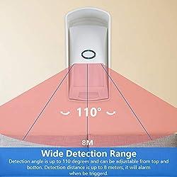 Tangxi Wireless Motion PIR Sensor, 433MHz Wireless Outdoor PIR Sensor Infrared Pet Motion Detector for Alarm Security System