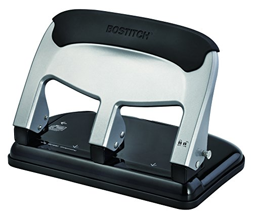 Bostitch EZ Squeeze 40 Sheet 3-Hole Punch (HP40)