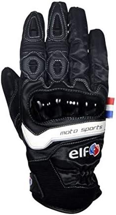 エルフ(ELF) バイク用 グローブ スポルトグローブ ブラック&ブラック Lサイズ ELG-9285