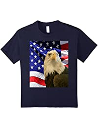 American Bald Eagle Flag Shirt, Patriotic Tee, Flag Shirt