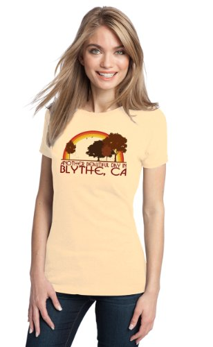 ANOTHER BEAUTIFUL DAY IN BLYTHE, CA Retro Ladies' T-shirt / California City Pride Tee