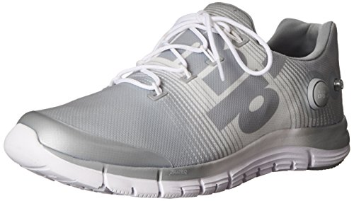 Reebok Women's Z-Pump Fusion Running Shoe Grey-white 7ANZ8Lwg8