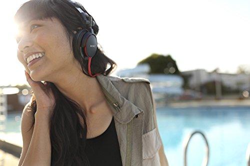 Sony MDRV55 Red Extra Bass & DJ Headphones MDR-V55 MDR-V55/RC(U)