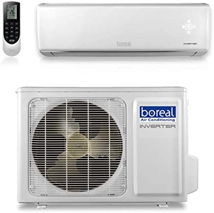 boreal EQX12HPJ1SB – 12,000 BTU 22 SEER Equinox Wall Mount Ductless Mini Split Air Conditioner Heat Pump 208-230V