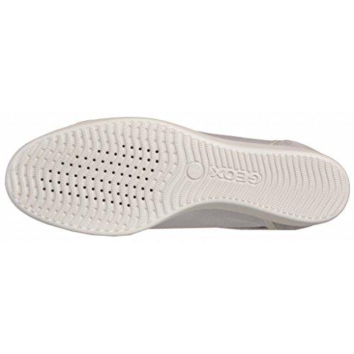 Calzado deportivo para mujer, color gris , marca GEOX, modelo Calzado Deportivo Para Mujer GEOX D STARDUST B Gris