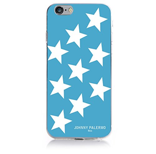 Johnny Palermo Hülle für Apple iPhone 6 Plus sterne grau