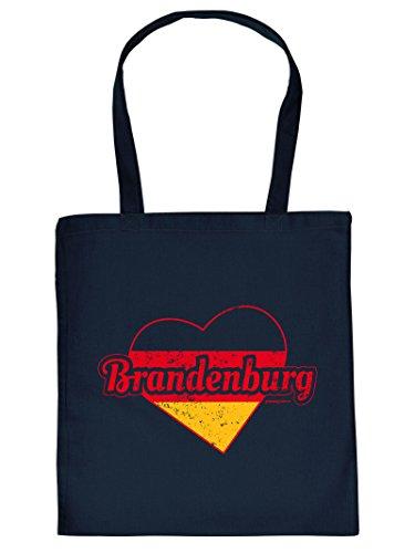 Brandenburg :Tote Bag Henkeltasche Beutel mit Aufdruck. Tragetasche, Must-have, Stofftasche. Geschenkidee,
