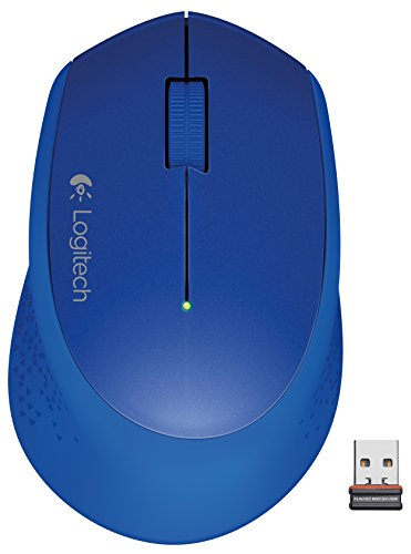 Logitech Wireless Mouse M320, Blue