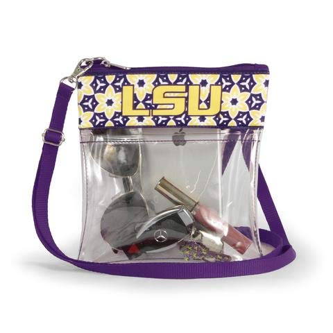 Canyon Outback Clear Crossbody Game Day Bag (Stadium Approved) ... (LSU)