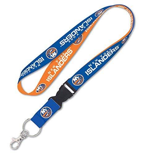WinCraft New York Islanders Lanyard Key Chain, 23 inches long, 1 inch wide