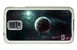 Hipster amazing Samsung Galaxy S5 Cases Space Digital Art PC White for Samsung S5
