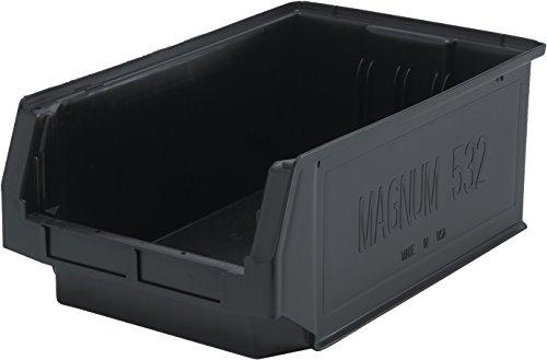 Quantum Storage Systems QMS532BK Heavy Duty Magnum Bin, 19-3/4