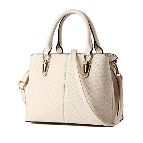 Femme Designer Sacs Pu Limotai Main En À Nouveaux De Crème Blanc Handbag Pour H4qqwv0