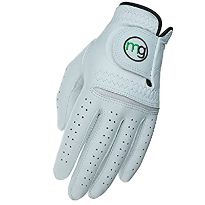 MG Golf DynaGrip Elite All-Cabretta Leather Golf Glove (Men's Regular Sizes)
